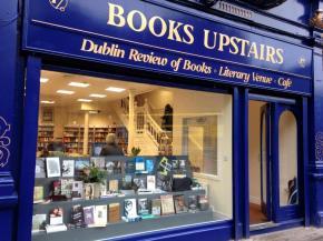 חנות ספרים בדבלין books upstairs